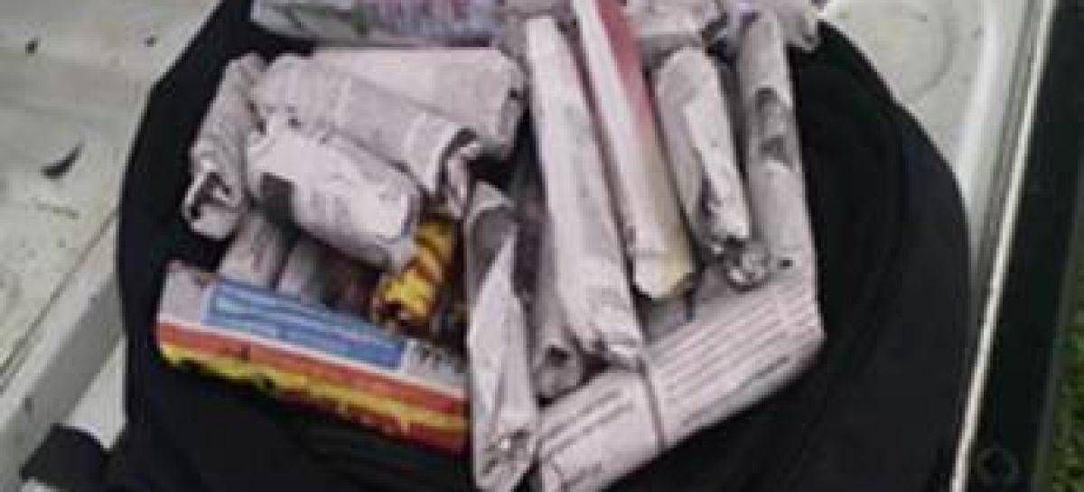 Detenidos dos presuntos distribuidores de droga en el Istmo de Tehuantepec