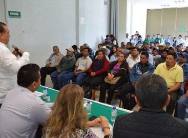 Destina Sagarpa 39.4 mdp para obras de captación de agua en comunidades de Oaxaca