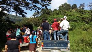 Autoridades de Chimalapas