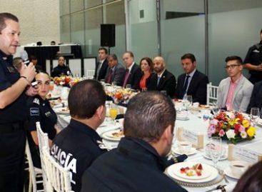 Fortalece Policía Federal lazos de cooperación con diplomáticos y agregados de seguridad en México