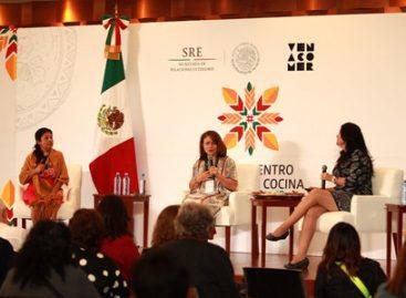 """Inauguran el """"Primer Encuentro Global de Cocina Tradicional"""" en la cancillería"""