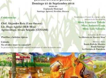 Realizarán III Feria del Maíz Nativo en Santiago Apóstol, Oaxaca