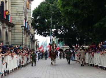 En orden y tranquilidad se desarrollaron desfiles cívico-militares en Oaxaca: SSPO