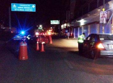 Bajo arresto ocho conductores ebrios tras Operativo Alcoholímetro en la Cuenca del Papaloapan