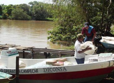 Diconsa, única opción de abasto alimentario en Palizada, Campeche