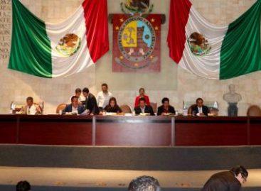 Aprueba Pleno reformas para eficientar administración pública en Oaxaca