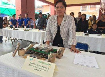Obtiene estudiante de la UTVCO primer lugar en concurso sobre derivados de maguey