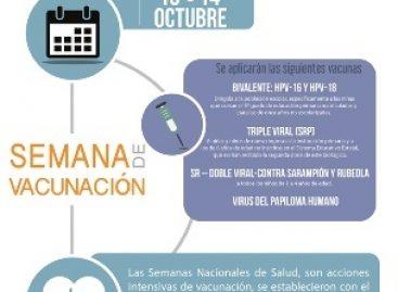 Invita IEEPO a participar en la Tercera Semana Nacional de Salud y Vacunación 2016