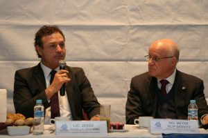 Jesús Padilla Zenteno, presidente de Coparmex-CDMX Meyer Klip Gervitz, INVEA