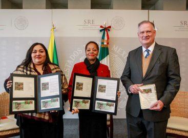 México y Jamaica cancelan timbre postal conmemorativo