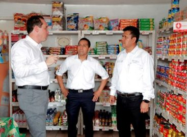Inauguran quinto CABE en Querétaro; 800 familias serán abastecidas con la canasta básica