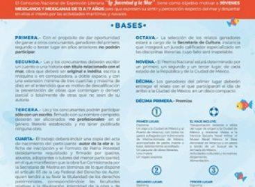 """Invitan IEEPO y SEMAR a participar en el XVI Concurso """"La Juventud y La Mar"""""""
