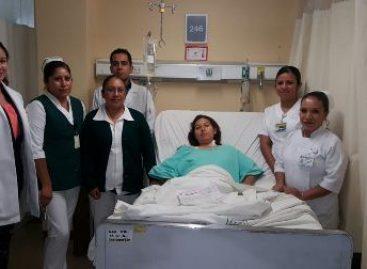 Salvan médicos del IMSS-Oaxaca la vida a mujer embarazada que llegó grave