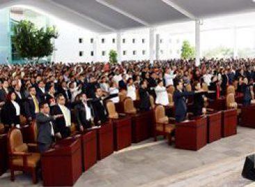 En horas, diputados de la 63 Legislatura enseñan el cobre