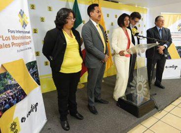 Realizará PRD Foro Internacional para reencontrarse con los movimientos sociales