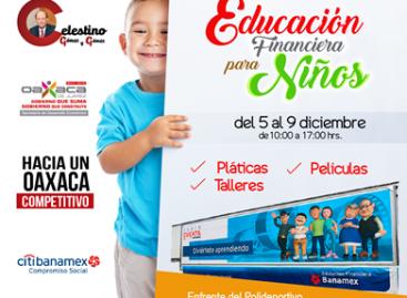 """Realizarán Primera """"Educaravana"""" dirigida a niños de la capital oaxaqueña"""