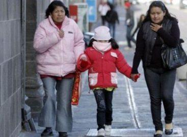 Piden prevenir y proteger a la población más vulnerable ante bajas temperaturas