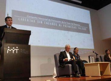 "Senado se suma a campaña contra la trata ""Libertad sin Engaños ni Promesas Falsas"""