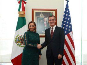 Canciller mexicana-Alcalde de Los Angeles