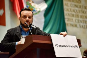 Diputado Jesús Romero López coordinador de la bancada del PT en la LXIII Legislatura de Oaxaca