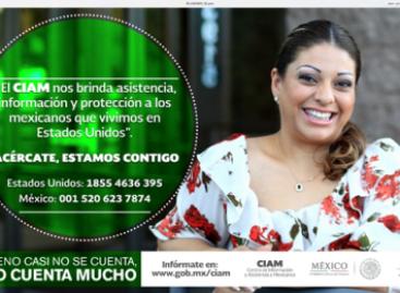Arranca SRE campaña de difusión Centro de Información y Atención para mexicanos en EU