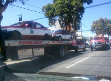 Aseguran 52 taxis del servicio público tras presentar diversas irregularidades: SSPO