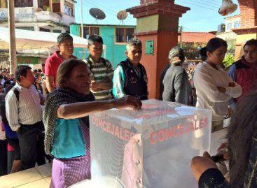 Avanzan elecciones en 17 municipios de sistema normativo en Oaxaca