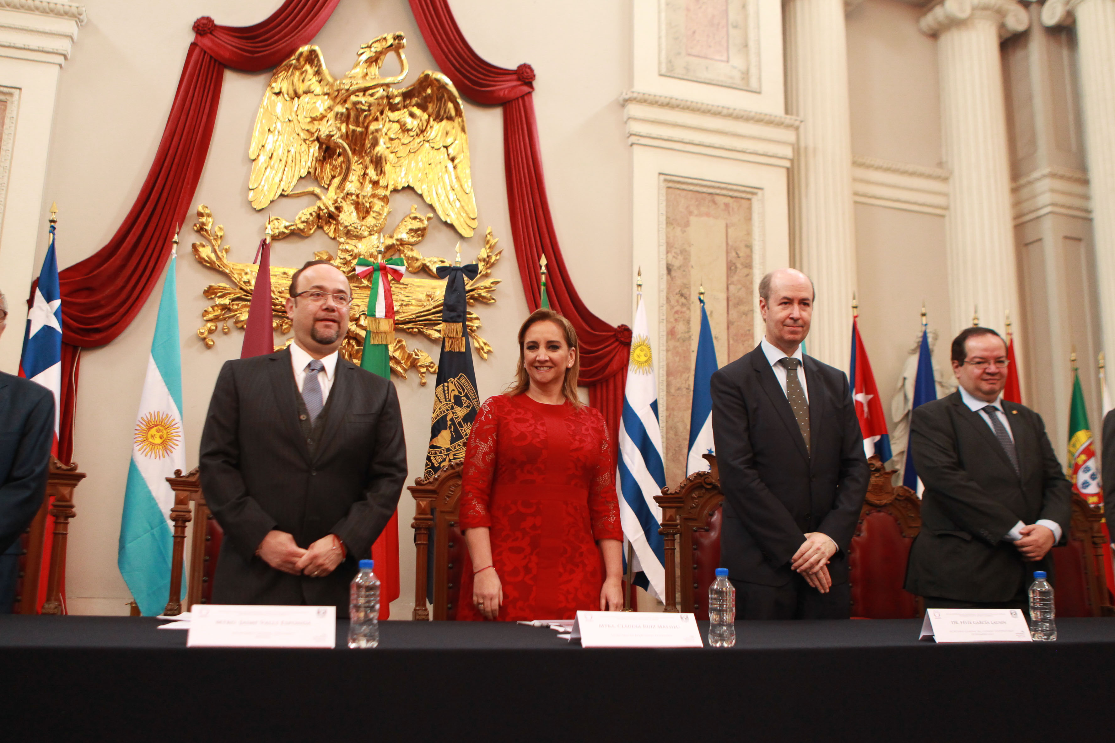 Inauguración de la Segunda II Cumbre de Presidentes de Consejos de Rectores de Unión Europea, América Latina y el Caribe.