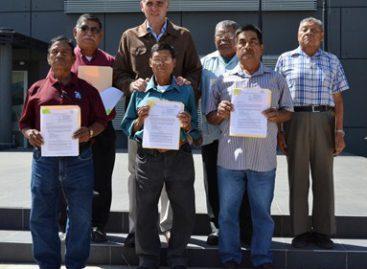 Entrega Gobierno de Oaxaca primeros dictámenes de pensiones a policías estatales