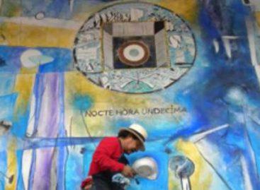 Inauguran mural de José Luis García en el XV Aniversario del Museo de Huajuapan
