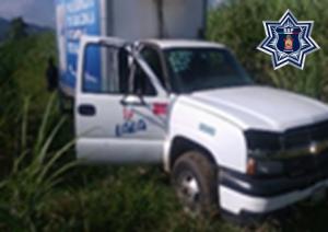 Camioneta Chevrolet, placas XW-04080 del Estado de Veracruz.