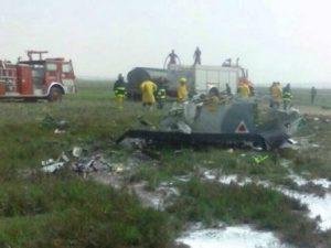 Accidente de aeronave militar
