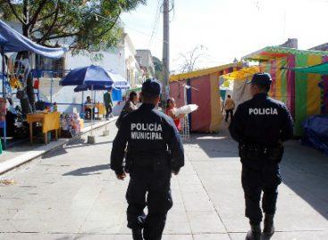 Implementan operativo de seguridad por festividades de la virgen de la Soledad en Oaxaca