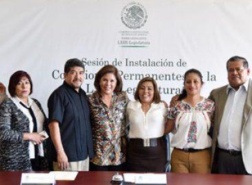 Comisión Instructora analizará y dictaminará leyes que beneficien a la sociedad oaxaqueña: Melgar
