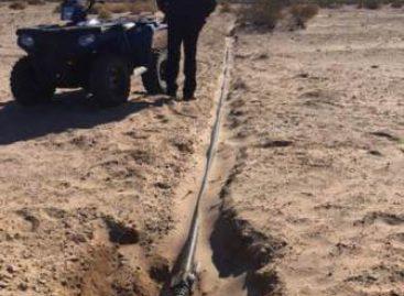 Detecta Policía Federal toma clandestina de hidrocarburo e inhabilita pista de aterrizaje en BC