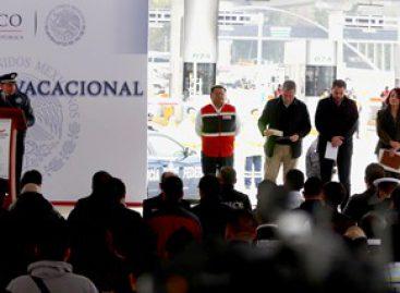 Brindarán autoridades federales y estatales seguridad a vacacionistas con Operativo Invierno 2016
