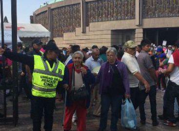 Brindan apoyo y seguridad a los peregrinos que acuden a la Basílica de Guadalupe