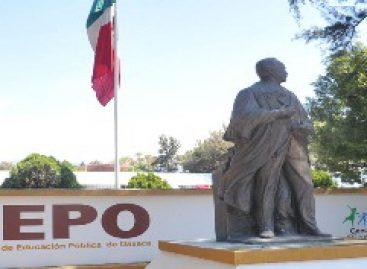 Por vacaciones, prepara IEEPO suspensión de actividades escolares, docentes y administrativas