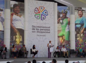 Mi gobierno se distinguirá por promover la inclusión de personas con discapacidad: Murat