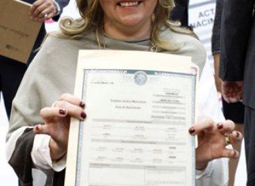Entrega Gobierno de la CDMX más de 240 mil actas de nacimiento