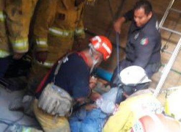 Rescatan a tres personas localizadas en una cisterna en la Ciudad de los Archivos