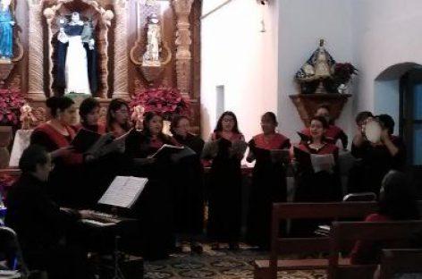Magno concierto de villancicos en San Jacinto Amilpas, Oaxaca