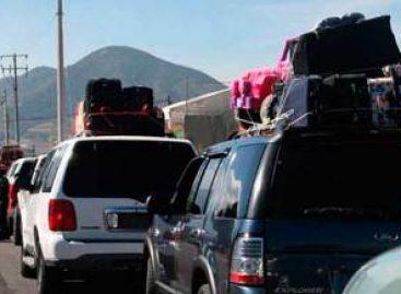Acompañará CNDH a caravana de automóviles de mexicanos provenientes de EU