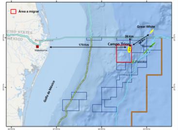 Desarrollará Pemex con BHP Billiton el proyecto del bloque Trion en aguas profundas