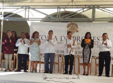 Celebran toma de protesta de 17 autoridades municipales emanadas del PAN