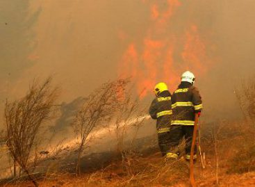 Otorga México apoyo a Chile para enfrentar incendios forestales