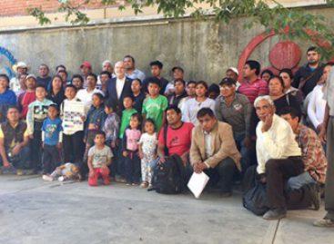 Se reúnen relator Especial de la ONU y defensor con víctimas de Nochixtlán