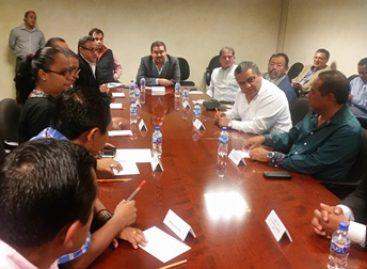 Unen esfuerzos Segego y partidos políticos por la gobernabilidad de Oaxaca