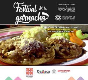 Festival de la Garnacha en Santo Domingo Tehuantepec.