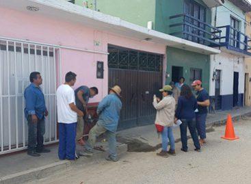 Mejora SAPAO abasto de agua potable en la colonia Libertad